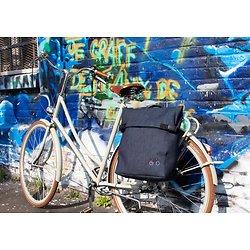 """Sacoche vélo """"Musettes et Compagnie""""EDDY"""" Jeans"""