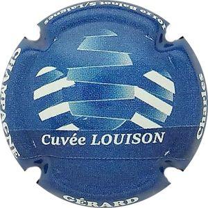 Série de  6 new  capsules de champagne GERARD Charles cuvée Louison