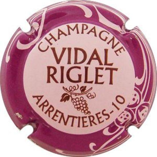 Capsule de champagne ARNOULD Claude fille mauve
