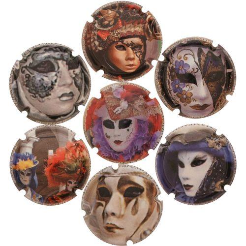 Sonnet Jacques - Les Masques Vénisiens