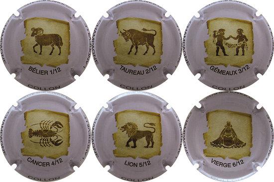 Collon - Les Horoscopes de 1 à 6