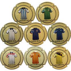 Despret Jean - Coupe du Monde 2014 - maillot 17 à 24