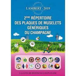 LAMBERT 2019 - Plaques muselets génériques du champagne
