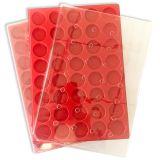 10 Plateaux plastique (avec couvercle)
