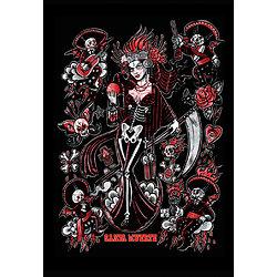 Impression d'art Santa Muerte Tattoo Flash