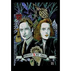 Impression d'art Trust No One / X-Files