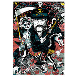 Impression d'art LEMMY KILMISTER