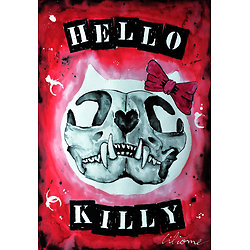 Impression d'art HELLO KILLY