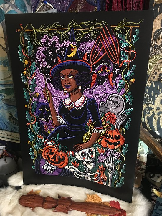 impression d'art WITCHY