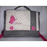 Cartable maternelle Papillon