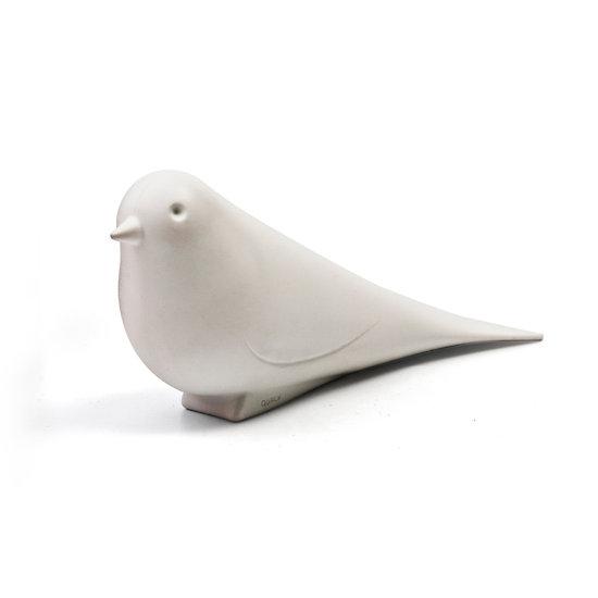 Cale porte - Colombe blanche