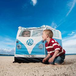 Tente de jeux enfants - Combi Volkswagen bleu