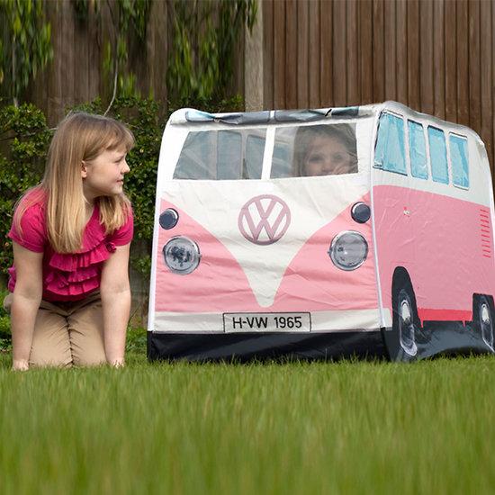 Tente de jeux enfants - Combi Volkswagen rose