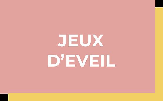 JEUX D'EVEIL