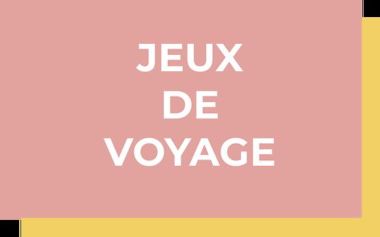 JEUX DE VOYAGE