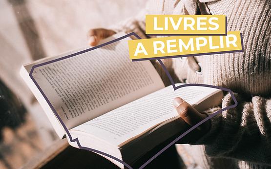 LIVRES A REMPLIR