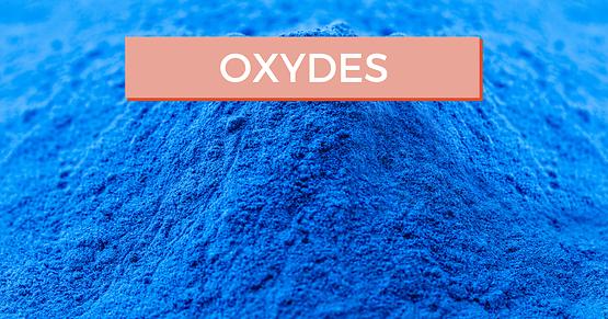 Les oxydes pour sublimer vos créations céramique