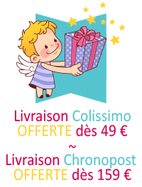 Livraison offerte dès 49 €