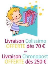 Livraison offerte à partir de 70 €
