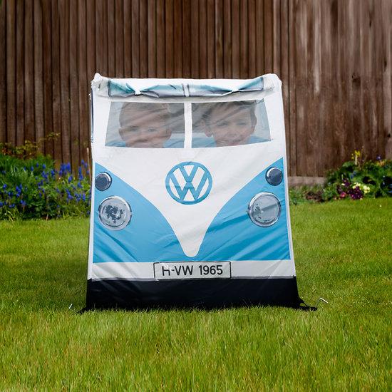 tente de jeux enfants bleu combi volkswagen r tro. Black Bedroom Furniture Sets. Home Design Ideas