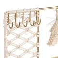 Porte Bijoux Macrame Naturel doré - SEMA Design