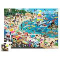 Puzzle 48 pièces - Une journée à la plage - 4/6 ans
