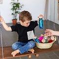 Bouteille Sensorielle Montessori Bébé Petit Boum Float Vert