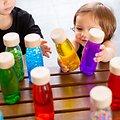 Bouteille Sensorielle Montessori Bébé Petit Boum Float Jaune