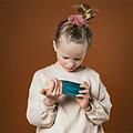 Bouteille Sensorielle Montessori Bébé Petit Boum Float Turquoise