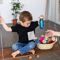 Bouteille Sensorielle Montessori Bébé Petit Boum Sound - Poisson