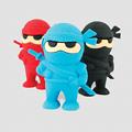 Boite de 3 gommes Ninja
