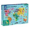 Puzzle 78 pièces - Carte du monde
