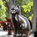 Arrosoir potager Chat noir