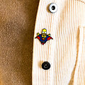 Pin's original - Superman / Homere Simpson