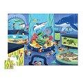 Puzzle 48 pièces - Une journée à l'aquarium - 4/6 ans