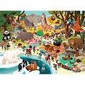 Puzzle 48 pièces - Une journée au Zoo - 4/6 ans