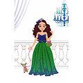 Cahier de mode - Les robes de princesse