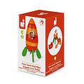 Jouet bébé - Fusée carotte en bois
