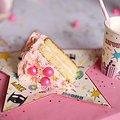 8 assiettes en carton anniversaire Superheros