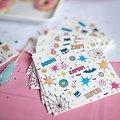 20 serviettes en papier anniversaire Superheros