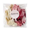 Ballons anniversaire Rose Mix - Lot de 12