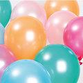 Ballons anniversaire Pastel Pearl - Lot de 12