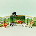 La tribu de la jungle - 6 animaux de la jungle en boite