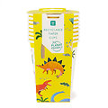Gobelet carton Dinosaures 100% recyclable - Lot de 8