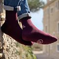 Chaussettes Hommes Pile ou Face - Les Epatantes - Bordeaux - Taille 43/46