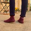 Chaussettes Hommes Pile ou Face - Les Epatantes - Bordeaux - Taille 39/42