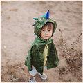 Cape deguisement enfant Dragon vert - 3/4 ans