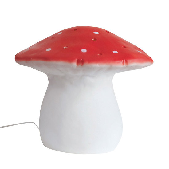 grande lampe champignon rouge egmont toys. Black Bedroom Furniture Sets. Home Design Ideas