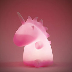 Veilleuse Licorne Uni the Unicorn Rose