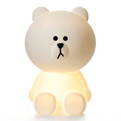 Grande lampe ours LED Mr Brown